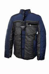 Vanzzi Férfi átmeneti elegáns kabát - kék