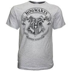 """SETINO Rövid ujjú férfi póló """"Harry Potter"""" - szürke"""