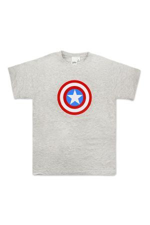 SETINO Férfi rövid ujjú Avengers póló - szürke - S