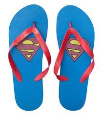 """Eplusm Férfi papucs """"Superman"""" - kék"""