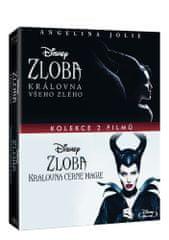 Zloba - kolekce: Zloba - Královna černé magie + Zloba: Královna všeho zlého (2BD) - Blu-ray