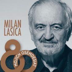 Lasica Milan: Mojich osemdesiat (4x CD) - CD