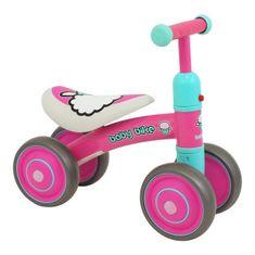 Baby Mix Detské odrážadlo Baby Mix Baby Bike pink Ružová