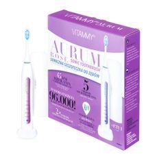 Vitammy AURUM ROSE sonický zubní kartáček s funkcí leštění