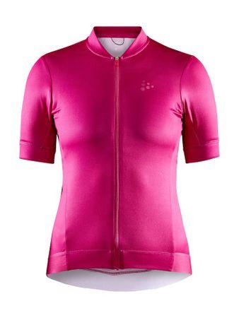 Craft Essence Jersey ženska kolesarska majica, XS, roza