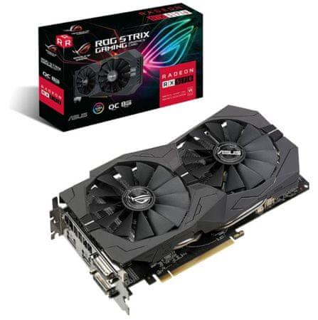 Asus ASUS ROG Strix OC Radeon RX 570, 8 GB GDDR5 grafična kartica