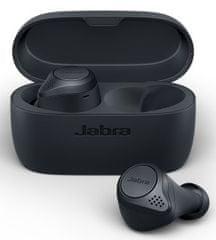 Jabra Bluetooth hansfree Elite Active 75t vezeték nélküli készülék, szürke, 100-99091004-60
