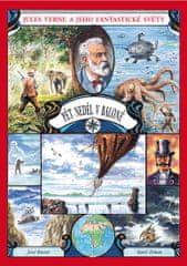 Verne Jules, Blažek Josef,: Pět neděl v baloně