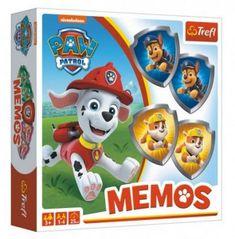 Trefl Pexeso papírové Paw Patrol/Tlapková patrola společenská hra 36 kusů v krabici 20x20x5cm