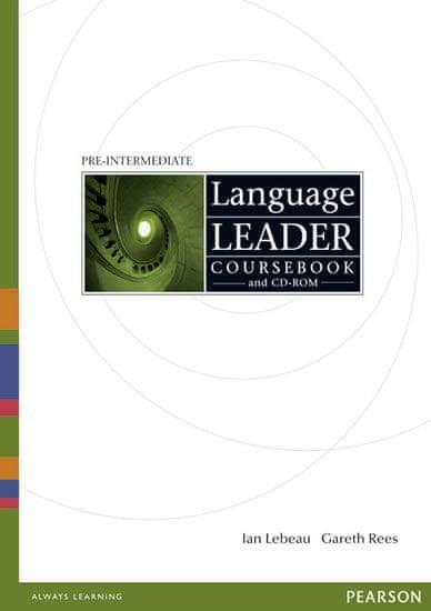 Lebeau Ian: Language Leader Pre-Intermediate Coursebook w/ CD-ROM Pack