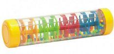 Teddies Kuličkový déšť/chrastítko barevné plast 20cm hlavolam v krabičce 21x8,5x8,5cm 12m+