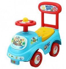 Teddies Odrážedlo auto plast modré výška sedadla 20cm v krabici 48x23,5x22,5cm 12-35m