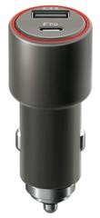 Forever Rychlonabíječka do auta Core USB a USB-C PD, 30 W, černá GSM045485