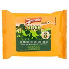 Zanzarella TIGER - Ochranné obrúsky proti kliešťom 15 ks