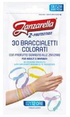 Zanzarella Z-ochranné náramky pre dospelých 30ks