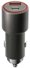 Forever ładowarka do samochodu Core USB QC 3.0 i USB-C PD, 36 W, czarna GSM045486