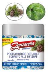 Zanzarella vonné perličky proti komárom s vôňou Borovice - 60dní