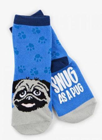 Little Blue House Snug Pug gyermek zokni 24 - 26 sötétkék