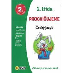 Český jazyk 2. třída procvičujeme - Zábavný pracovní sešit