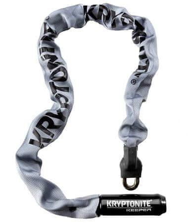 Kryptonite Keeper 785 ključavnica z verigo, 7 x 850, siva