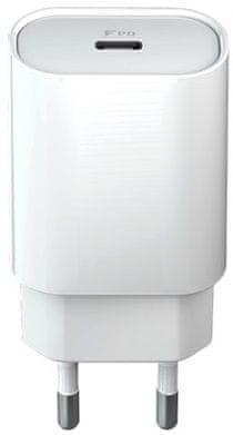 Forever ładowarka sieciowa Core USB-C PD, 18 W, biała GSM045481