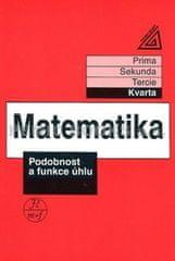 Herman J. a kolektiv: Matematika pro nižší ročníky víceletých gymnázií - Podobnost a funkce úhlu (kv