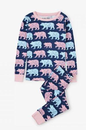 Little Blue House Cottage Bears otroška pižama, večbarvna, 104