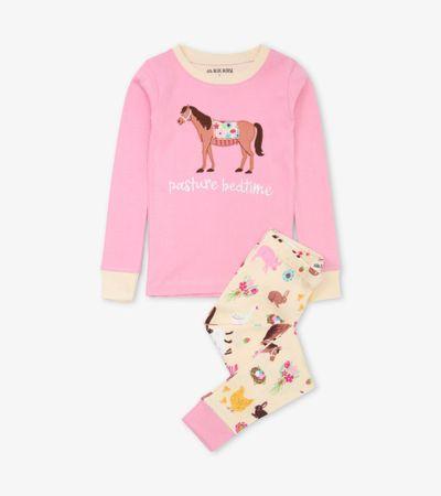 Little Blue House Country Living gyermek pizsama, 116, színes