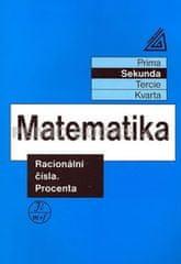 Herman J. a kolektiv: Matematika pro nižší ročníky víceletých gymnázií - Racionální čísla a procenta