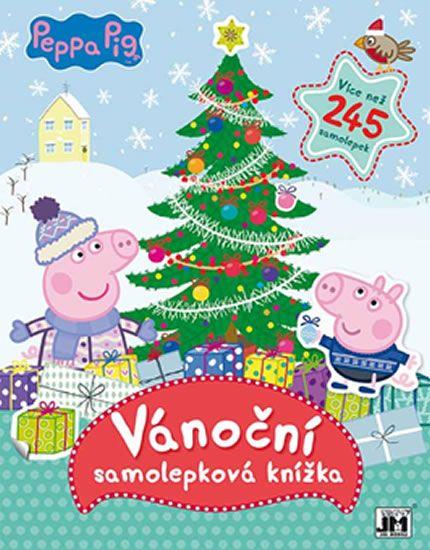 Vánoce s Peppou - Samolepková knížka