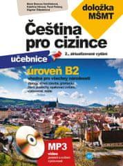 Kestřánková Marie a kolektiv: Čeština pro cizince B2 - učebnice a cvičebnice + CD