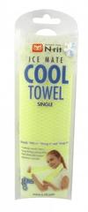 N-Rit COOL TOWEL SINGLE chladivý šatka Zelený