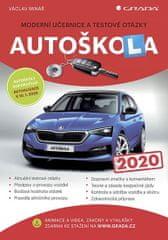 Minář Václav: Autoškola 2020 - Moderní učebnice a testové otázky