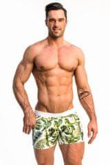 Alpha Male Pánské plavkové šortky Alpha Male Playo Palm