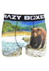 Crazy Boxer Pánské boxerky Crazy Boxer ASS 28