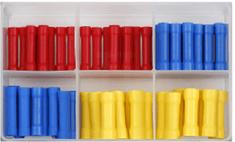 Sonic Kulaté zásuvky - dutinky, různé rozměry, sada 100 kusů