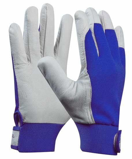 GEBOL Pracovní rukavice, kozinková useň, UNI FIT COMFORT velikost 10