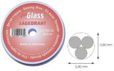 ProGlass Řezací drát na autoskla, průměr 0.80 mm; 22 m - ProGlass SD-22