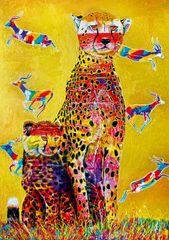 Blue Bird Puzzle 1000 dílků African Watch