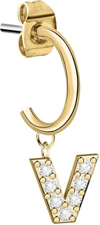 "La Petite Story Egyedi fülbevalók ""V"" LPS02ARQ82"