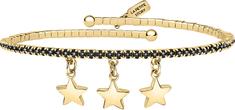 La Petite Story Błyszczące pozłacane bransoletka Gwiazdy LPS05APZ18