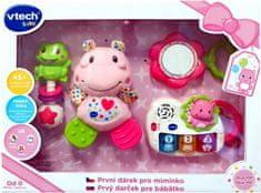 Vtech Vtech První dárek pro miminko CZ - růžový