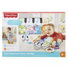 Fisher-Price Fisher Price POLŠTÁŘEK POD BŘÍŠKO S PIANEM