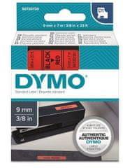 Dymo traka za ispis naljepnica D1, širina 9mm, crno-crvena, 40917