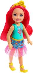 Mattel Barbie Wróżka Chelsea z czerwonymi włosami