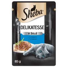 Sheba kapsičky pre dospelé mačky s tuniakom v želé 24x85 g