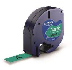 Dymo traka LetraTag 12mm, zelena-plastificirana (912040)