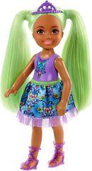 Mattel Barbie Wróżka Chelsea z zielonymi włosami