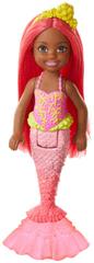 Mattel Barbie Chelsea syrenka z czerwonymi włosami