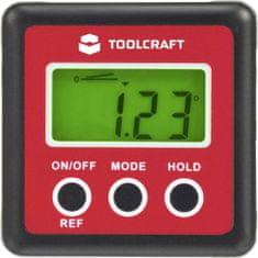 Toolcraft Digitální vodováha a úhloměr TO-4988565